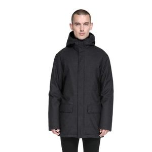 Mackage Octave Black Down Hooded Coat Jacket NEW